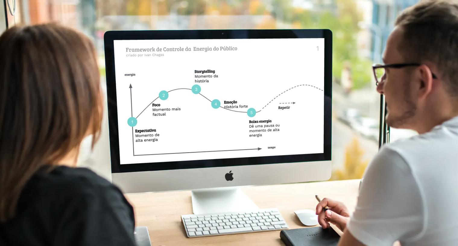 Framework de energia: planeje de maneira estruturada como manter sua plateia presa ao conteúdo do seu evento.