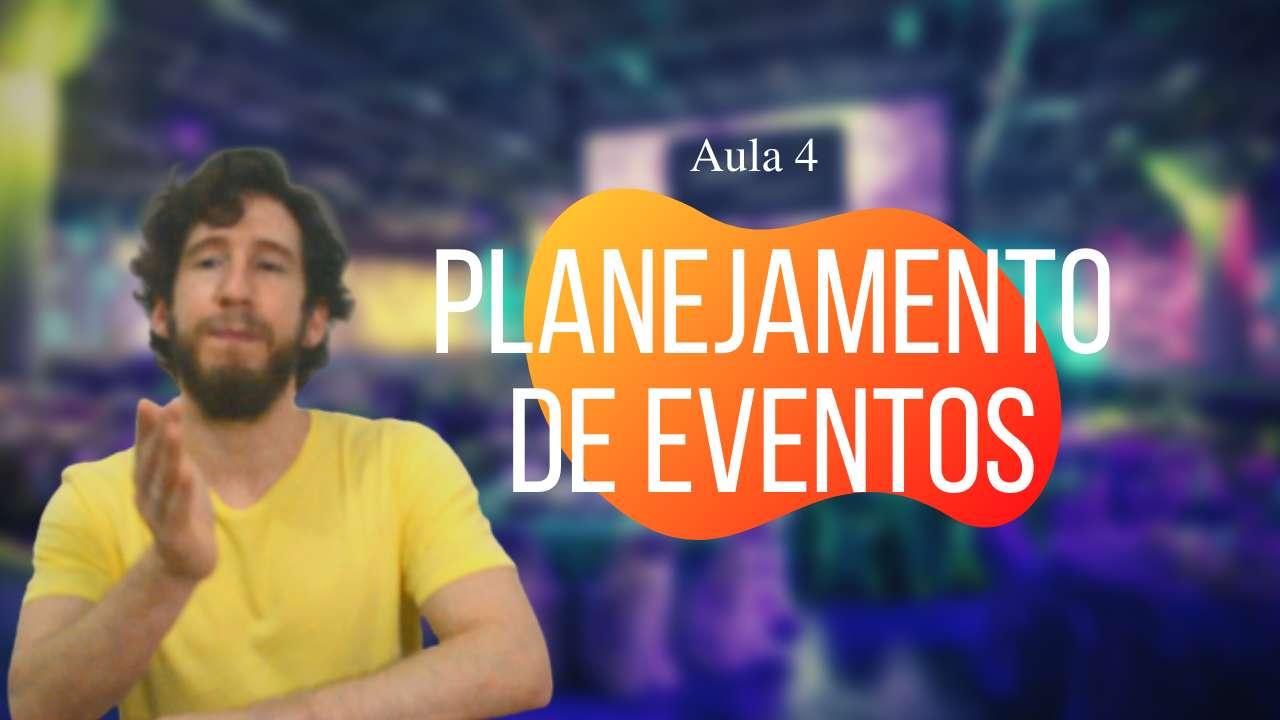Planejamento de eventos e os componentes básicos
